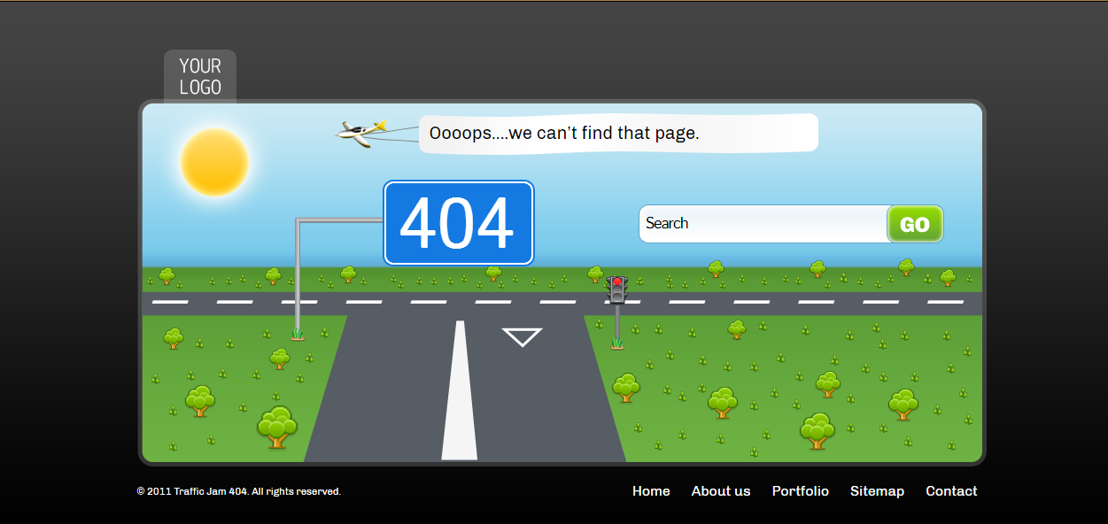 28 examples of best designed 404 error pages for your inspiration