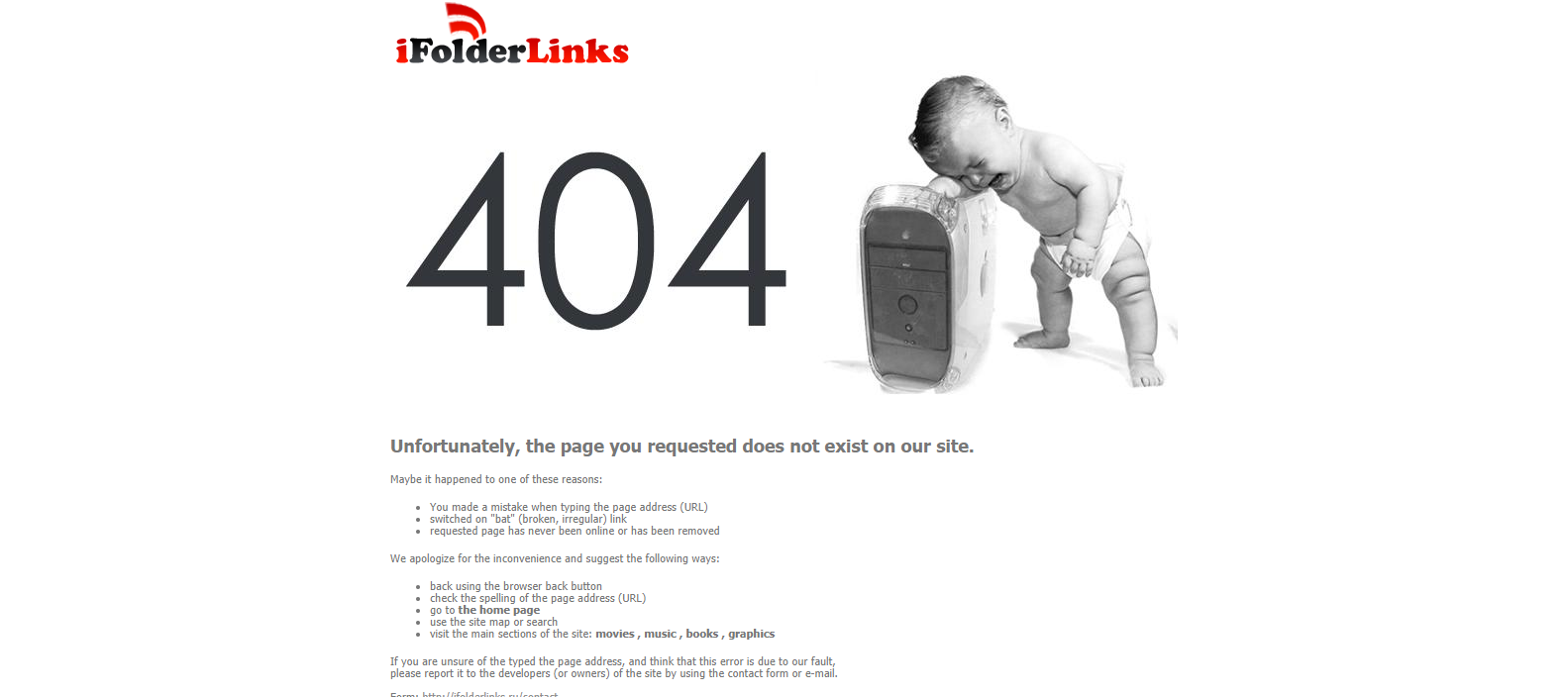 28 Examples Of Best Designed 404 Error Pages For Your Inspiration Boat Electrical Wiring Diagrams Page Not Found Ever This Is An Interesting Where You Can See The Picture A Baby Crying While Resting His Head On Cpu Main Highlight Basically