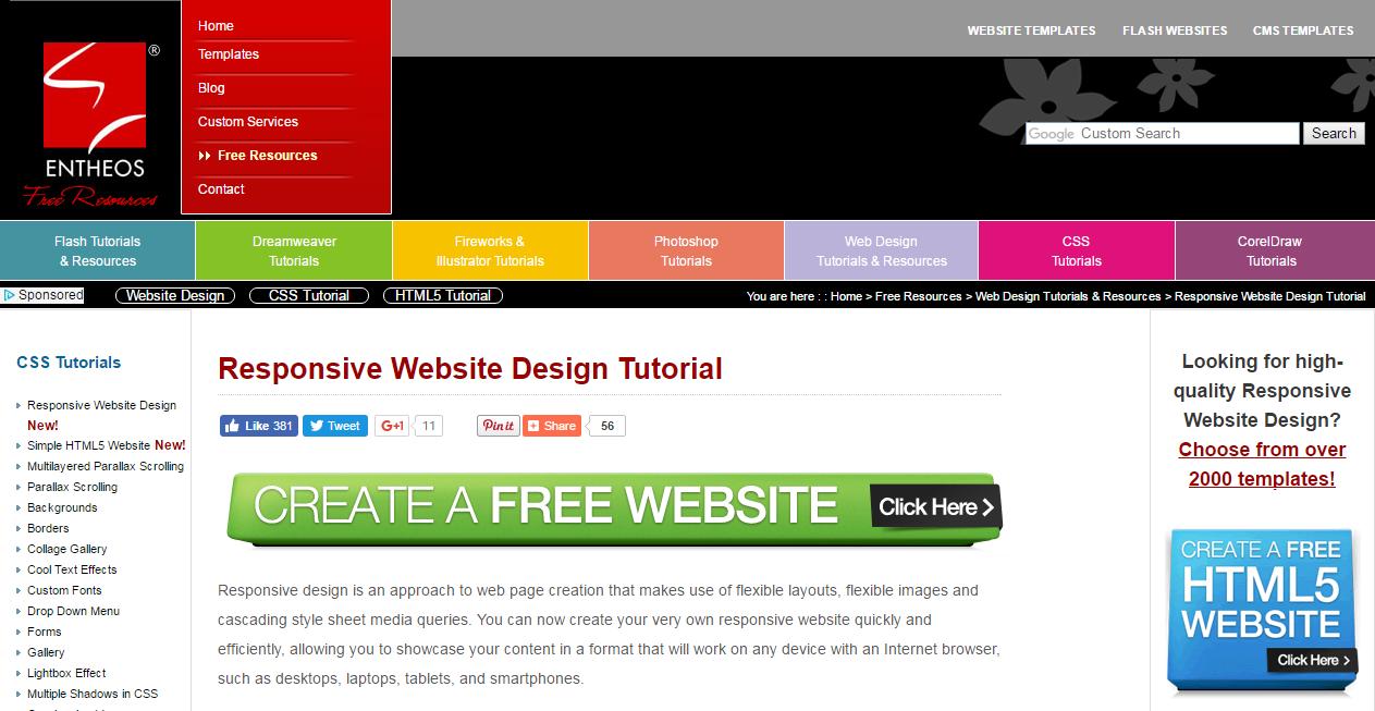 Website Design Tutorial | 20 Amazing Tutorials For A Responsive Web Design Simplefreethemes
