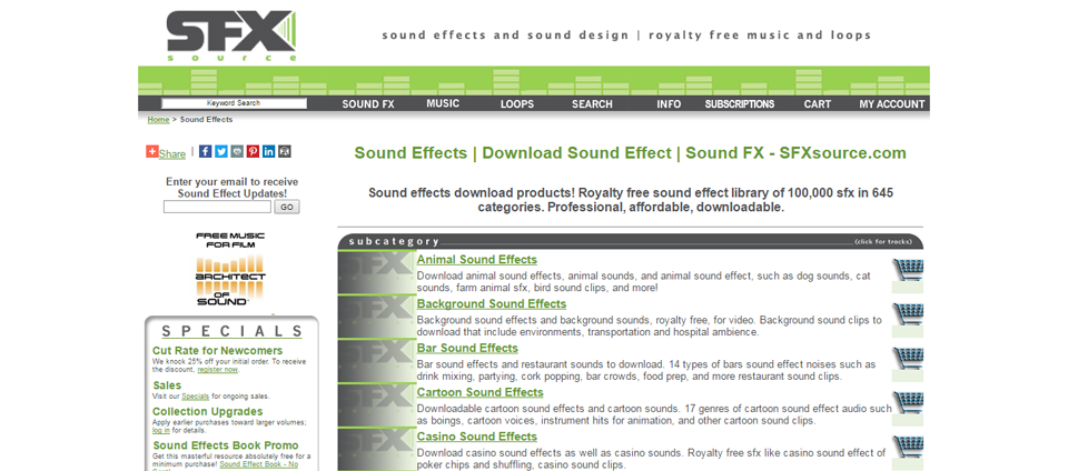 25 Best Websites To Download Sound Effects & Royalty Free Music