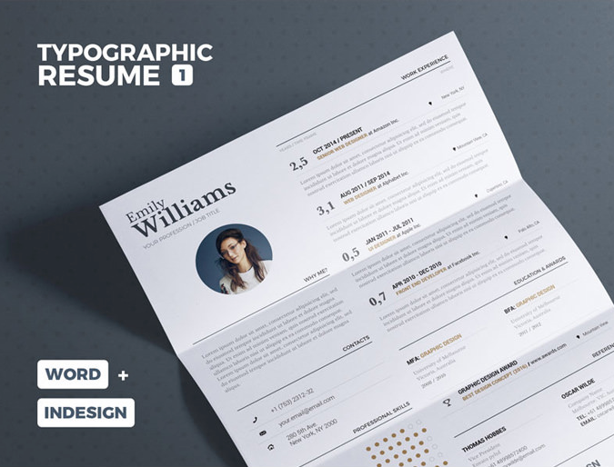 30 best modern design resume templates simplefreethemes
