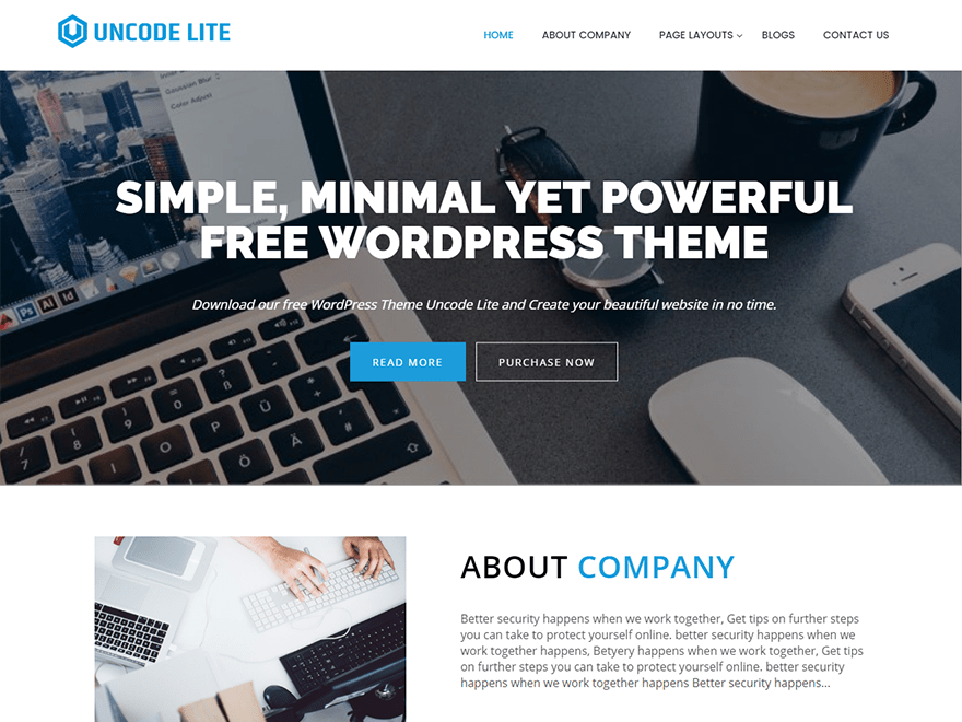 50 Free Clean Wordpress Themes 2018 Simplefreethemes