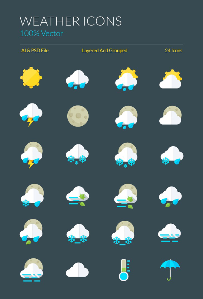 Top 27 Fabulous Icon Sets For Your Next Project Simplefreethemes