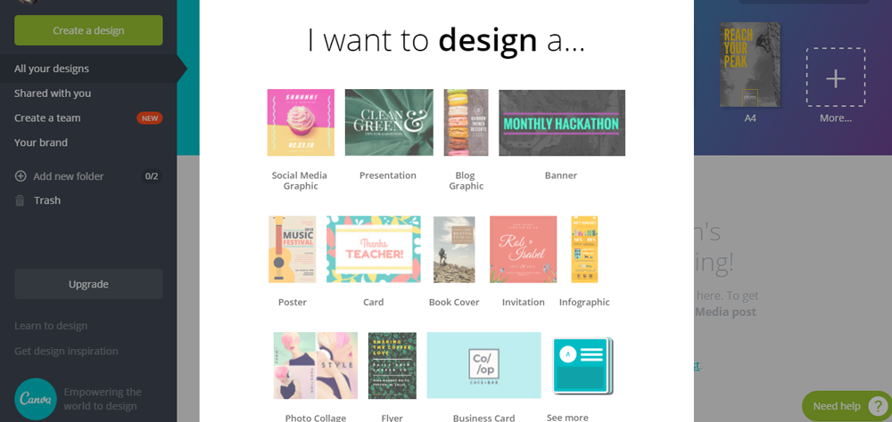 Top 25 graphic design softwares for free simplefreethemes canva is another free graphic design software that you can download without paying anything you dont have to be a designing expert in order to design reheart Images