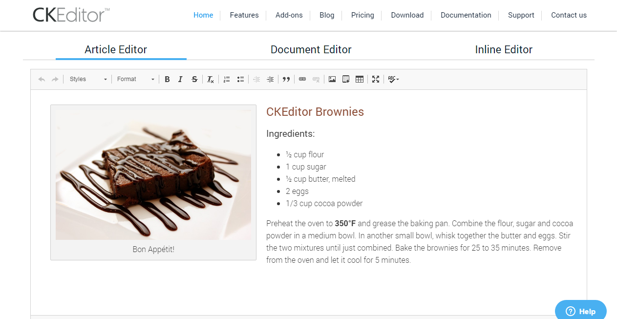 Ckeditor is a powerful wysiwyg html editor which has more than 100 features available it is a fully customizable where you can customize any aspect of this