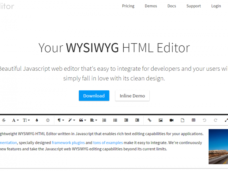 20 Of The Best WYSIWYG HTML Editors - SimpleFreeThemes