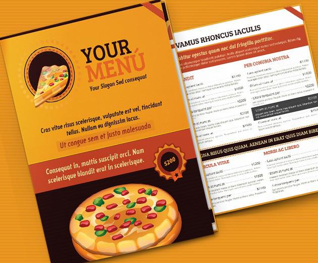 Top  Free Psd Restaurant Menu Templates   Simplefreethemes