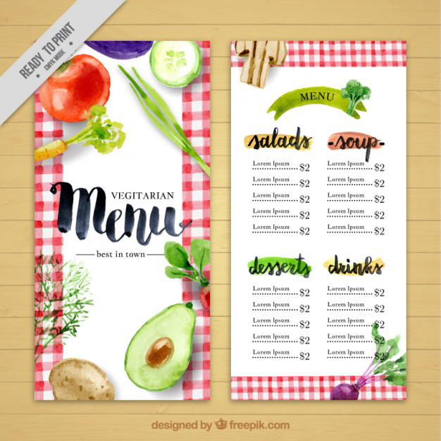 Top  Free Psd Restaurant Menu Templates   Simplefreethemes