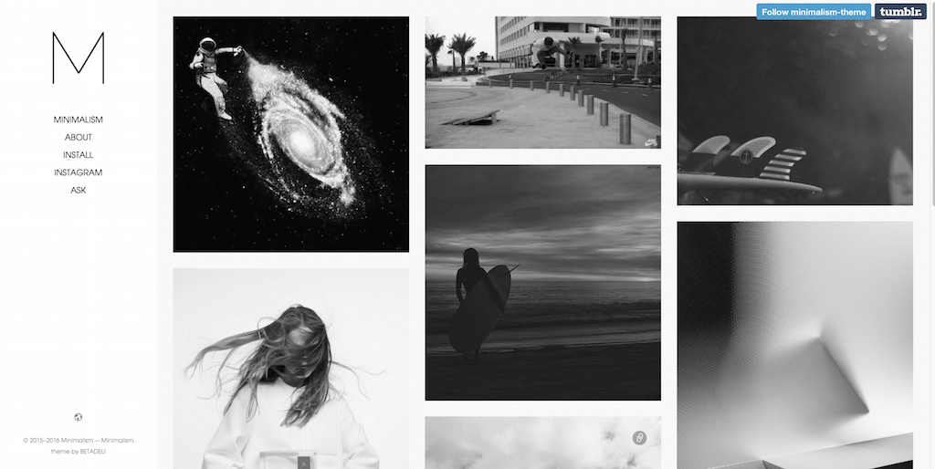 45 Fabulous Tumblr Themes For Free With Splendid Designs Simplefreethemes
