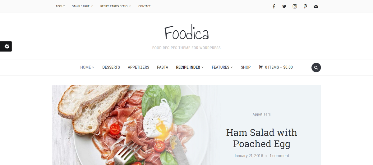 25 free simple wordpress themes for your websites simplefreethemes foodica is ideal for making sustenance based online journals magazines and formula sites it comes with six shading plans a delightful highlighted slider forumfinder Choice Image