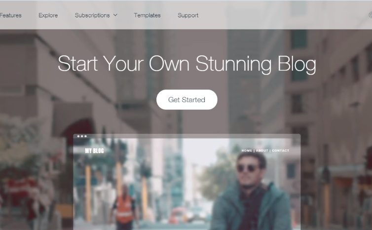 How to Start a Blog Online Using Wix