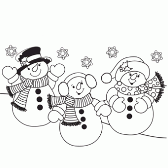 20 Free Christmas Coloring Pages for Super Fun Time