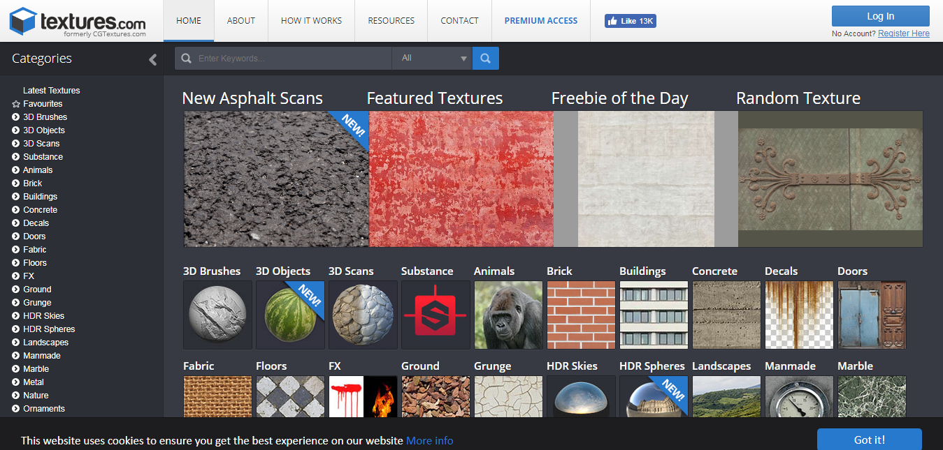 20 Free Websites to Download Amazing Textures - SimpleFreeThemes